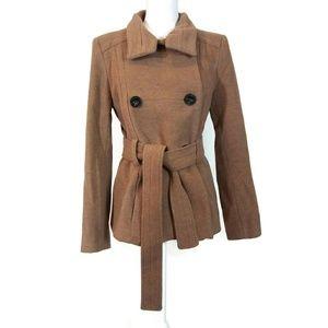 ZARA Wool Blend Short Coat M Medium